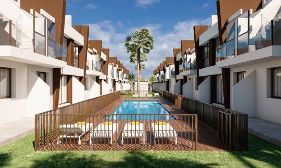 Piso en Alicante, San Pedro del Pinatar - Mar Menor, 64 m2, piscina -