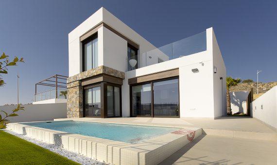 Villa in Alicante, Algorfa, 100 m2, pool -
