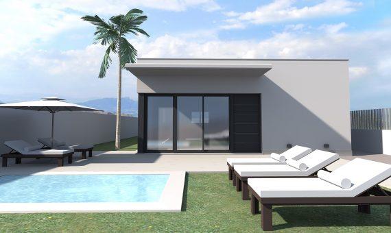 Villa in Alicante, Rojales, 100 m2, pool -