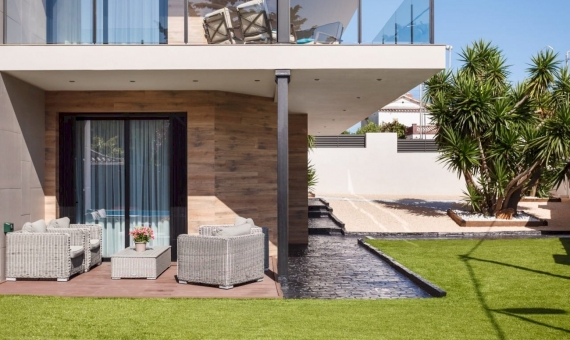 Modern house with swimming pool in Castelldefels | 4