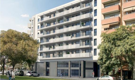 Новые квартиры рядом с пляжем в Побленоу, Барселона | 2