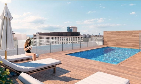 - Brand new apartments near the beach in Poblenou, Barcelona
