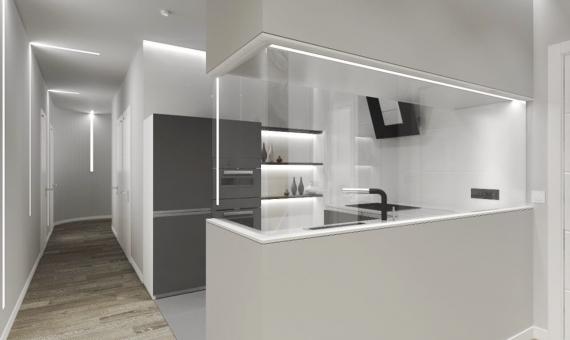 Дизайнерская квартира 115 м2 в Эшампле, Барселона | 3