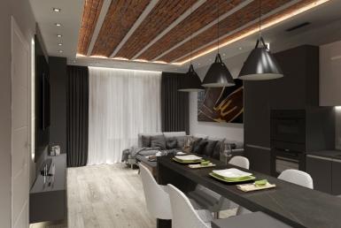 Дизайнерская квартира 90 м2 в центре Барселоны
