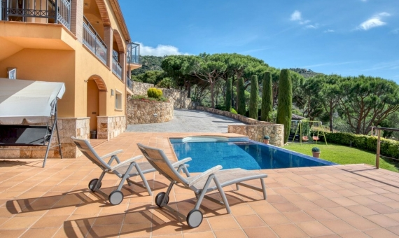 Villa with magnificent sea views in Playa de Aro, Costa Brava | 4