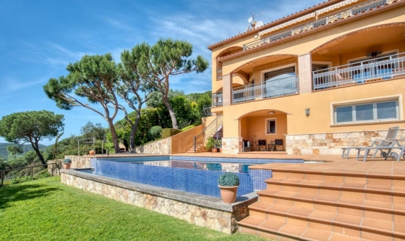 Villa with magnificent sea views in Playa de Aro, Costa Brava | 1