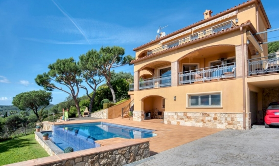 Villa with magnificent sea views in Playa de Aro, Costa Brava | 2