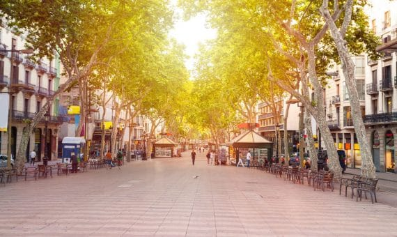 Building of 1.720 m2 next to La Rambla, Barcelona | shutterstock_590361305-570x340-jpg