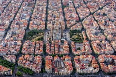 Отель 2* после ремонта возле собора Саграда Фамилия, Барселона