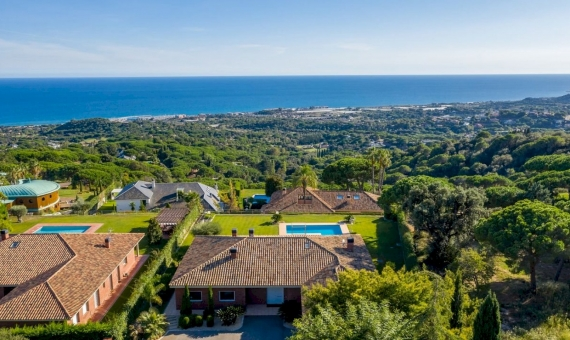 Magnificent villa with sea views in the prestigious Supermaresme area, Barcelona | 2