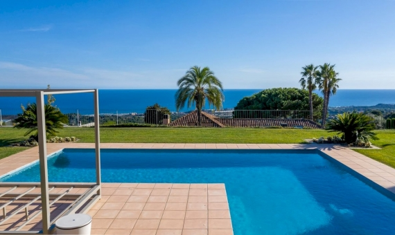 Magnificent villa with sea views in the prestigious Supermaresme area, Barcelona | 3
