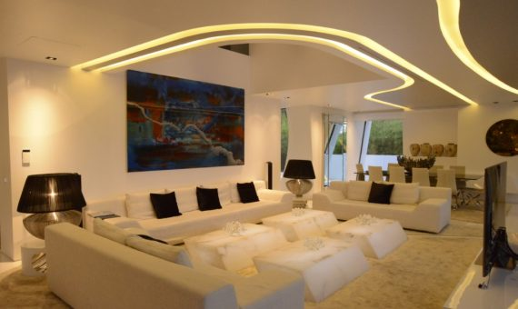Luxury modern style villa on the seafront in Gava Mar | 3