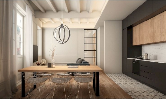 Building of 2.636 m2 with a project in the historic center of Barcelona | 2