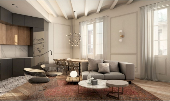Building of 2.636 m2 with a project in the historic center of Barcelona | 3