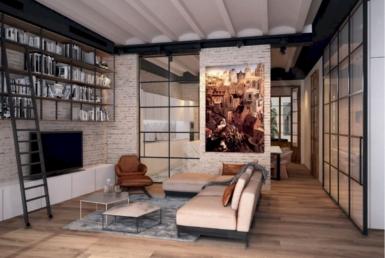 Эксклюзивная квартира после ремонта в историческом центре Барселоны