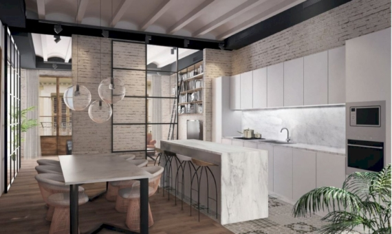 Exclusive brand new apartment in the historic center of Barcelona | 1