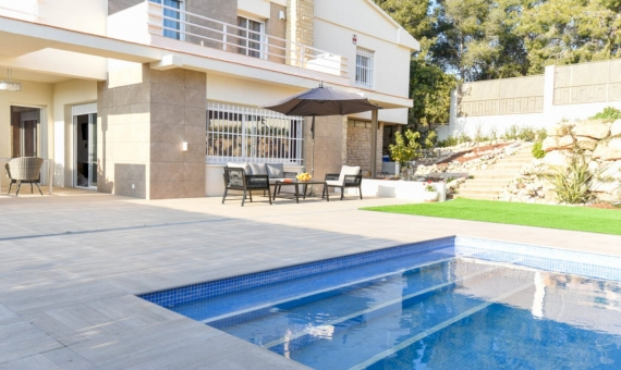 Beautiful newly renovated villa for summer rent in Calafell, Costa Dorada | 3