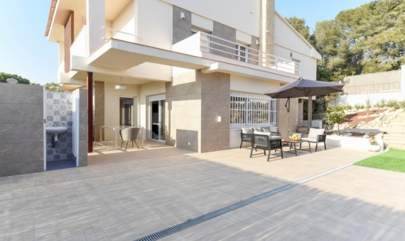 Beautiful newly renovated villa for summer rent in Calafell, Costa Dorada | 4