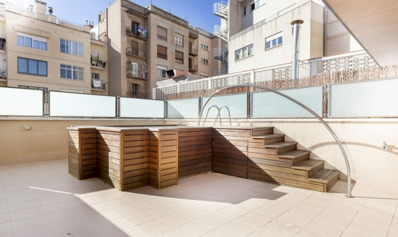 Spacious apartment with large terrace in the prestigious Sant Gervasi area | 2