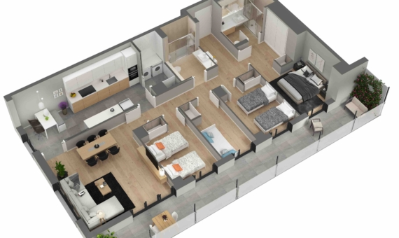 New flats close to the sea in Poblenou area of Barcelona   3