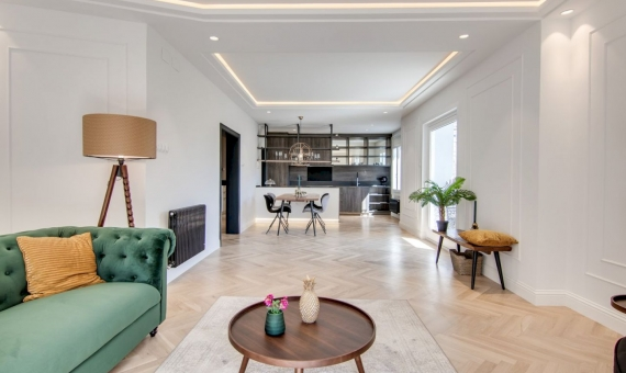 Unique newly renovated apartment with stunning views of the Sagrada Familia in Barcelona | 2