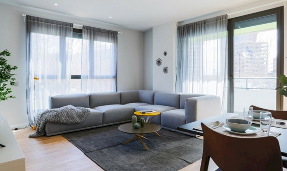 New construction apartments close to Plaza Europa in the Hospitalet de Llobregat of Barcelona | 2