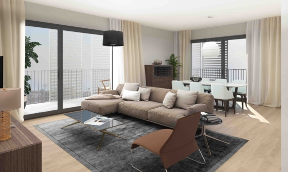 Luxury new constructed flats in Sarria-San Gervasi | 1