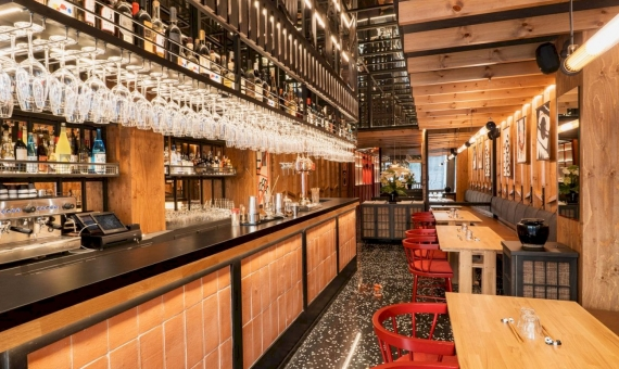 Transfer of a stylish restaurant with a great location in Eixample, Barcelona | gutai-barcelona-008-web-570x340-jpg