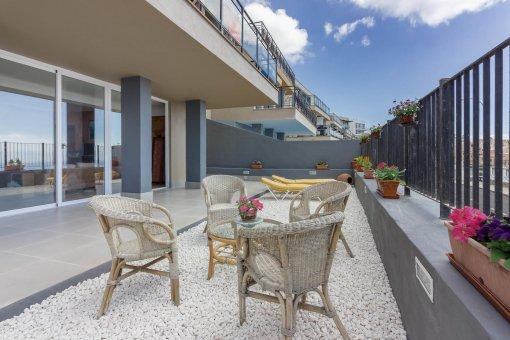 Вилла в Адехе, город Сан-Эухенио-Альто, 230 м2, сад, террасса, балкон   | 70