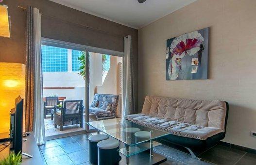 Apartment in Adeje, city Playa de Fañabe, 40 m2, terrace -