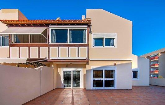 Casa adosada en Adeje, ciudad El Madroñal, 152 m2, jardin, terraza, garaje   | 38