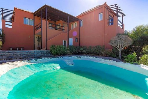 Вилла в Адехе, город Плайя-Параисо, 300 м2, сад, террасса, гараж   | 70