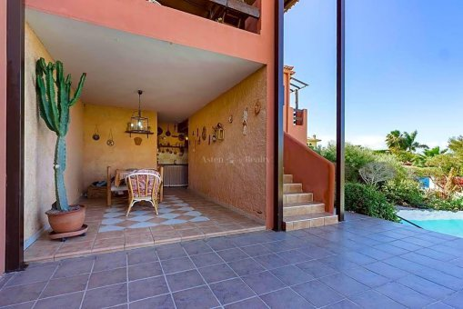 Вилла в Адехе, город Плайя-Параисо, 300 м2, сад, террасса, гараж   | 73