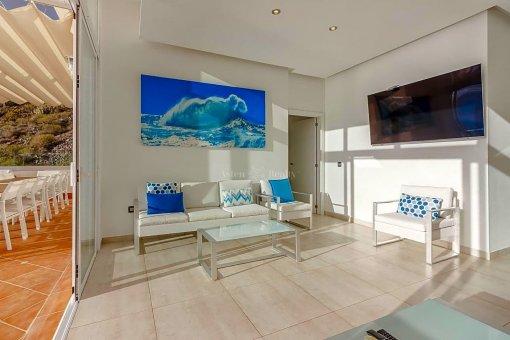 Casa en Adeje, ciudad Roque del Conde, 375 m2, jardin, terraza, garaje   | 38