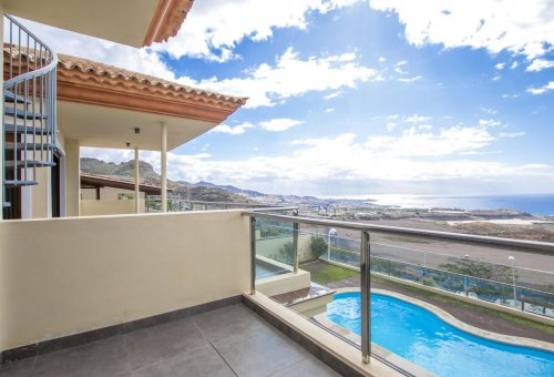 Villa in Adeje, city Galeon, 250 m2, garden, terrace, garage   | 52