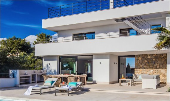 Miscellaneous in Nova Santa Ponsa, Mallorca, 380 m2, pool   | 24
