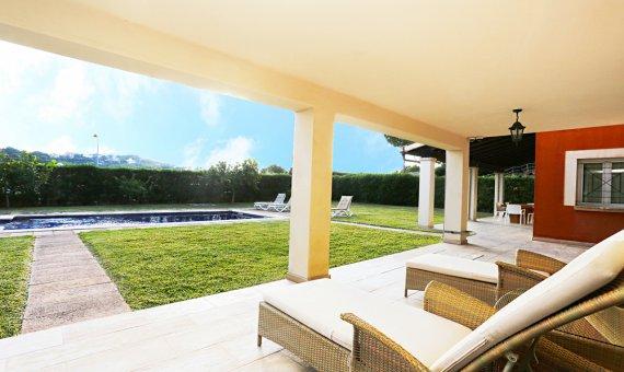 Villa in Costa de la Calma, Mallorca, garden, pool,    | 12