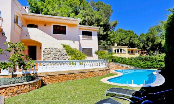 Villa in Costa de la Calma, Mallorca, garden, pool,    | foto_155007-570x340-jpg
