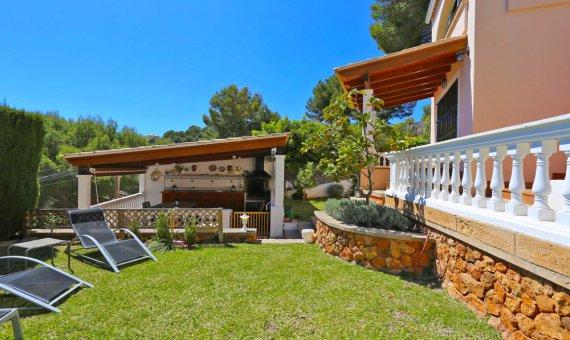 Villa in Costa de la Calma, Mallorca, garden, pool,    | 13