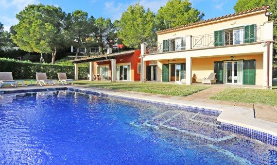Villa in Costa de la Calma, Mallorca, garden, pool,    | titelbild_148851-570x340-jpg