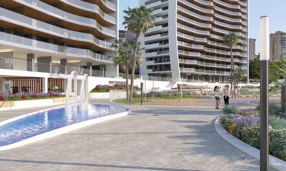 Piso en Alicante, Benidorm, 84 m2, piscina   | 19