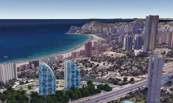Piso en Alicante, Benidorm, 84 m2, piscina   | 21