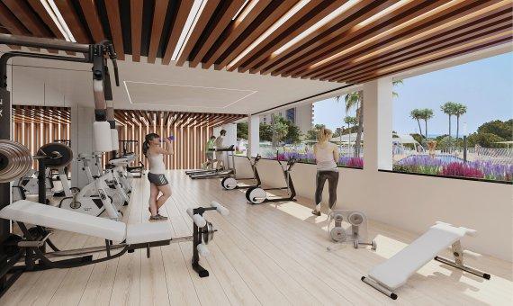 Piso en Alicante, Benidorm, 84 m2, piscina   | 15