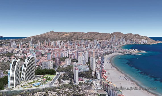 Piso en Alicante, Benidorm, 84 m2, piscina   | 12