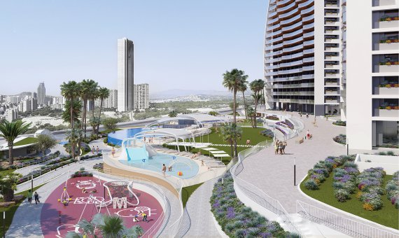 Piso en Alicante, Benidorm, 84 m2, piscina   | 3