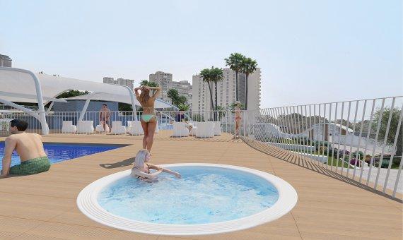 Piso en Alicante, Benidorm, 84 m2, piscina   | 23