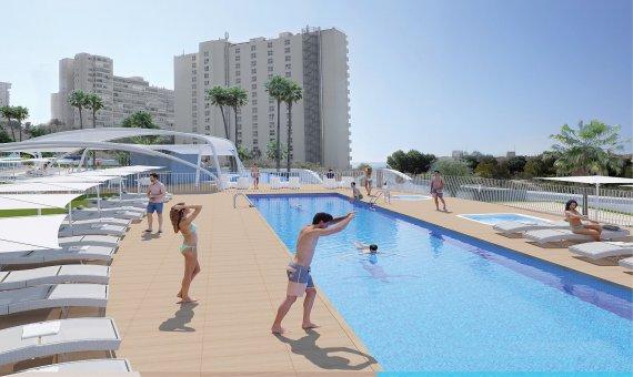 Piso en Alicante, Benidorm, 109 m2, piscina   | 4