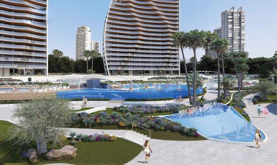 Piso en Alicante, Benidorm, 109 m2, piscina   | 11