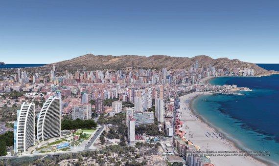 Piso en Alicante, Benidorm, 109 m2, piscina   | 12