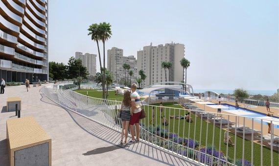 Piso en Alicante, Benidorm, 109 m2, piscina   | 14